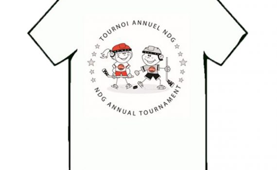T-shirt – Enfant (youth) – NDG Hockey Association